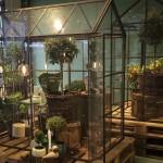 Et skønt lille drivhus ved Illum
