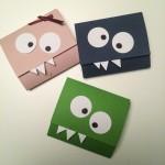 DIY Monsterkort til piger og drenge